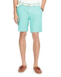 Polo Ralph Lauren Newport Pima Cotton Twill Shorts Pale Aqua