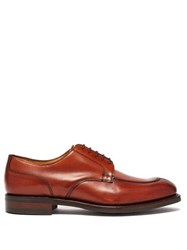 Cheaney Chiswick R Leather Derby Shoes Brown