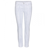 Closed Striped Jeans Ivory