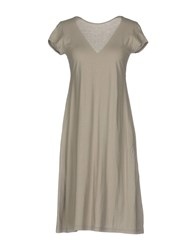 Almeria Knee Length Dresses Grey