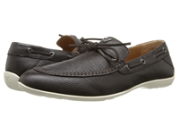 Armani Jeans Leather Laced Mocassin