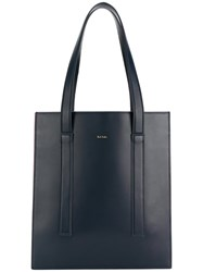 Paul Smith Accordion Tote Bag Blue