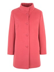 Basler Wool Coat With Cashmere Pink