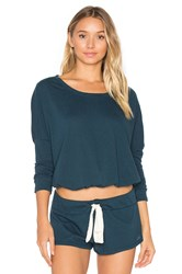 Eberjey Heather Slouchy Tee Teal