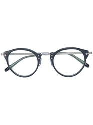 Oliver Peoples Round Frame Glasses Black