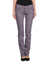 Jeckerson Denim Pants Mauve