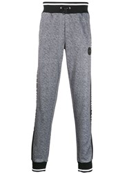 Plein Sport Logo Trackpants Grey