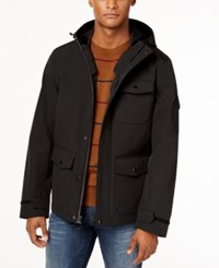 G.H. Bass And Co. Men's Utility Rain Coat Black