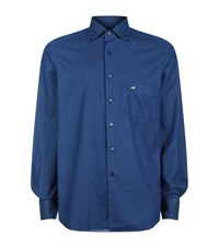 Stefano Ricci Denim Effect Shirt Male Blue