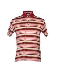 Bramante Polo Shirts Maroon