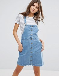Vila Denim Pinafore 031 Blue