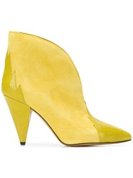 Isabel Marant Archee Low Boots Yellow