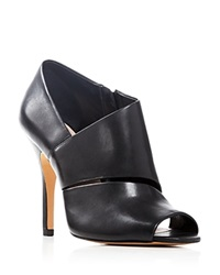 Pour La Victoire Bloomingdale's Exclusive Yale Open Toe High Heel Booties
