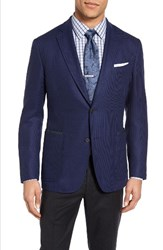 Pal Zileri Men's Classic Fit Wool And Mohair Blazer