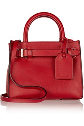 Reed Krakoff Rk40 Small Leather Tote Red
