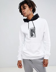 Volcom Reload Hoodie With Print In White