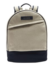 Want Les Essentiels Kastrup Faux Suede Backpack Grey Multi