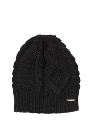 Diesel Cable Knit Beanie Hat