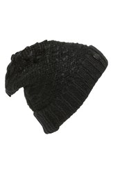 Women's Vince Camuto Thick Yarn Cuff Hat Black