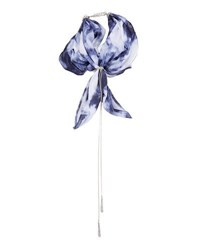 Lydell Nyc Tie Dye Scarf Necklace