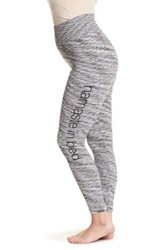One 5 One Space Dye Graphic Legging Plus Size Multi