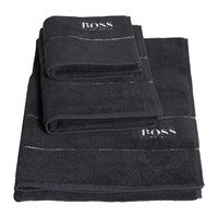 Hugo Boss Plain Graphite Towel Hand Towel