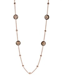 Ippolita Rose Mini Lollipop Quartz Necklace 37 L