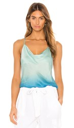 Young Fabulous And Broke Sweetie Tank In Blue. Bali Blue Ombre