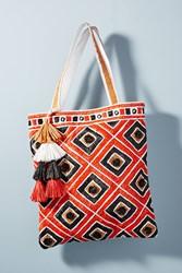 Anthropologie Tamati Tote Bag Bright Red