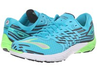 Brooks Purecadence 5 Scuba Blue Green Gecko Anthracite Women's Running Shoes