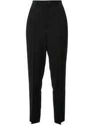 G.V.G.V. Slit Hem Trousers Black