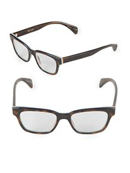 Paul Smith Whitley 49Mm Cat Eye Optical Glasses Brown Tortoise