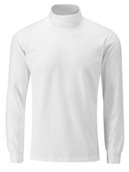 Oscar Jacobson Buck Long Sleeved Rollneck White