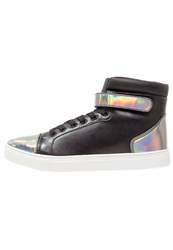 Your Turn Hightop Trainers Black