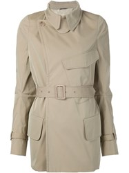 Maison Martin Margiela Maison Margiela Belted Trench Coat Nude And Neutrals