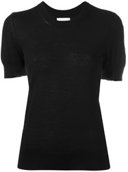 Barrie Knitted Top Black