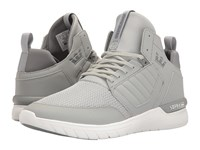 Supra Method Light Grey White Men's Skate Shoes Gray
