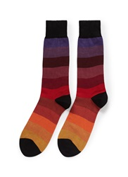 Paul Smith Rainbow Stripe Socks Multi Colour