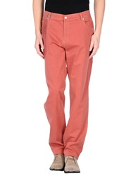Nicwave Trousers Casual Trousers Men Brick Red