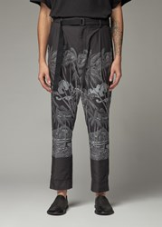 Sacai 'S Diamond Head Pant In Black Size 1 Polyester Cupro Lining
