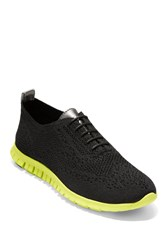 Cole Haan Zerogrand Stitchlite Knit Lace Up Sneaker Bk Knt Gm