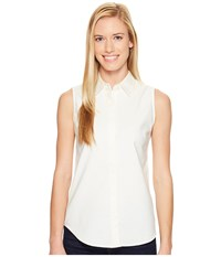 United By Blue Sleeveless Sierra Shirt Ivory Women's Sleeveless White