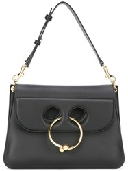 J.W.Anderson Piercing Detail Shoulder Bag Black