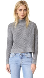 Autumn Cashmere Boxy Sweater Cement