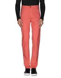 Franklin And Marshall Trousers Casual Trousers Men Salmon Pink