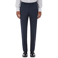 Ermenegildo Zegna Men's Wool Silk Trousers Navy