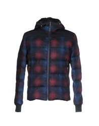 Domenico Tagliente Down Jackets Dark Blue