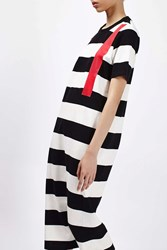 Boutique Mono Stripe Midi Dress By Monochrome