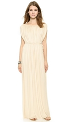 Rachel Pally Grecian Long Dress Cream
