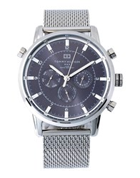 Tommy Hilfiger Timepieces Wrist Watches Men Steel Grey